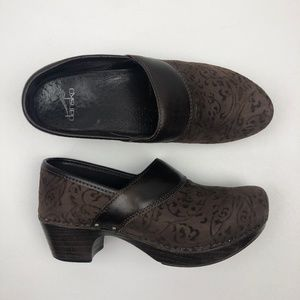 Dansko PRIMA Brown Clog